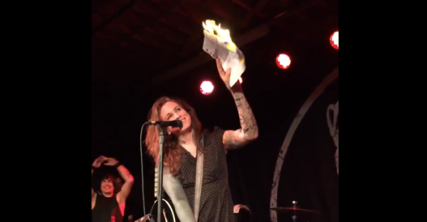 Laura Jane Grace Burning Birth Certificate